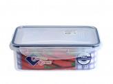 Контейнер пластиковый с  защелками для пищи   1,1л