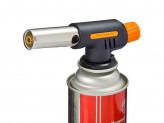 Горелка газовая пьезо с цанговым захватом, широкое сопло, 14,3х4х5,7см, G-005