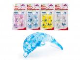 """3D Пазл кристаллический """"Подвеска Дельфин"""", 11 деталей, пластик, 5х2,7х3,8см, 4 цвета"""