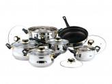 Набор посуды 12 предметов Classic Bekker BK-224