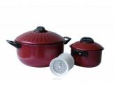 Набор кастрюль из 4 предметов Bekker, терка для сыра, BK-803