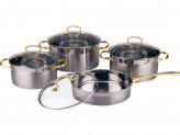 Набор посуды 8 предметов Premium Bekker BK-2587