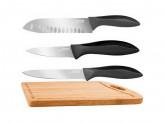 Набор из 3-х ножей с разделочной доской RONDELL Primarch RD-462