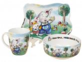 Набор детской посуды, 3 предмета, ROSENBERG 8771