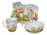 Набор детской посуды, 3 предмета, ROSENBERG 8772