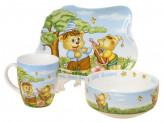 Набор детской посуды, 3 предмета, ROSENBERG 8774
