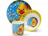 Набор детской посуды, 3 предмета, LR 24023