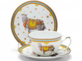 Чайный набор, 4 предмета, керамика, LR 24506