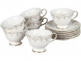 Чайный набор, 12 предметов, ROSENBERG 8699