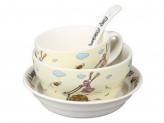 Набор детской посуды, 4 предмета, ROSENBERG 87962