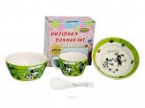 Набор детской посуды, 4 предмета, ROSENBERG 87965