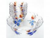 Набор салатников, 7 предметов, стекло, LR 22759