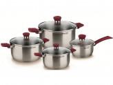 Набор посуды 8 пр. RONDELL Strike RDS-818