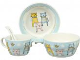 Набор детской посуды, 4 предмета, ROSENBERG 87961