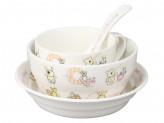 Набор детской посуды, 4 предмета, ROSENBERG 87964