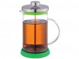 Чайник/кофейник 1л (кофе-пресс) зеленый Mallony