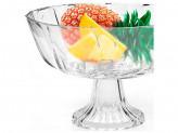 Ваза для фруктов 22.5х14см, стекло, MB 25535