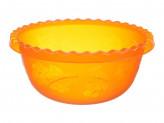 Миска  3,0л без крышки  круглая Оранжевый