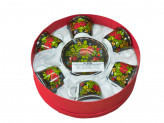 9040 Набор чайн 12пр 220мл керам п/уп gy2011216/12g (наб.)