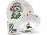 Набор детской посуды, 3 предмета, LR 26094