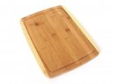 Доска разделочная бамбук 330х250х15мм