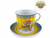 Набор чайный  из 12  предметов  6 чашек + 6 блюдец  180мл на мет подст