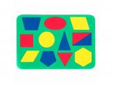 Мозаика с геометрическими фигурами, ЭВА, 21х14,5см