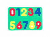 Мозаика с цифрами, ЭВА, 21х14,5см