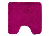 Коврик для туалета, акрил, 50x50см, однотонный фиолет,