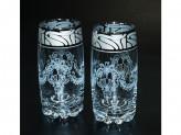 """Набор 6 стаканов  для сока с рисунком """"мускат"""" ge05-812 в7-2"""
