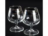 """Набор 6 бокалов для бренди """"эдем"""" с рисунком """"первоцвет"""" tl66-1812 в8-2"""