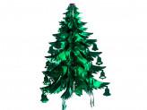 Новогоднее украшение из фольги уп 10шт s632