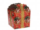 Коробка бумажная новогодняя (18х18х18см) n s-662 упаковка по 12 шт.