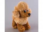 Игрушка мягкая собака 19см поет s-581