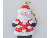 Украшение 8 см на елку, Дед Мороз