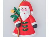 Украшение 9 см на елку, Дед Мороз