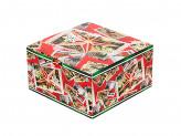 Марки Коробка подарочная складная, бумага, 16х16х8,5см