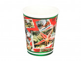 Марки Набор бумажных стаканов, 6шт, 200мл