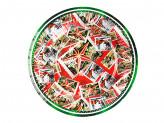 Марки Набор бумажных тарелок, 6шт, d18см, 6 дизайнов
