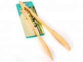 Щипцы кулинарные бамбук 30см