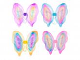 Костюм карнавальный крылья бабочки, полиэстер, 42х44см, 4 дизайна СНОУ БУМ