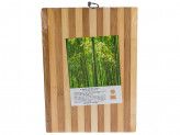 Доска раздел бамбук 22х32х1,3см полоска