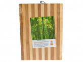 Доска раздел бамбук 24х34х1,3см полоска