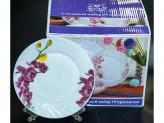 Набор столовый 19 предметов стеклокерам  Орхидея