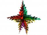 Новогоднее украшение из фольги