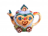 "Чайник заварочный, керамика, 300мл, ""Домик-сердце"" Домики"