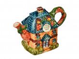"""Чайник заварочный, керамика, 600мл, """"Сказочная страна"""" Домики"""