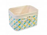 Коробка для хранения складная, бамбук, 22x16x14см Ромбы VETTA