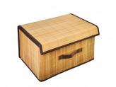 Коробка для хранения складная, бамбук, 35х25х22см VETTA