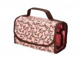 Органайзер дорожный, ПВХ, текстиль, 43х20см, розовый
